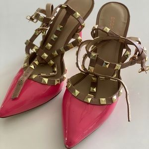 Knock off Valentino heels by bcbg!